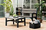 Набор садовой мебели Montero Set из искусственного ротанга ( Allibert by Keter ), фото 3
