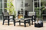 Набор садовой мебели Montero Set из искусственного ротанга ( Allibert by Keter ), фото 4
