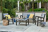 Набор садовой мебели Montero Set из искусственного ротанга ( Allibert by Keter ), фото 8