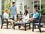 Набор садовой мебели Montero Set из искусственного ротанга ( Allibert by Keter ), фото 9