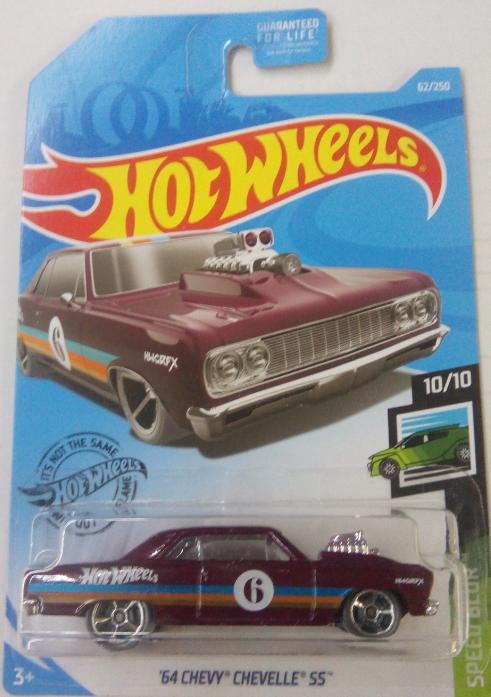 Машинка Hot Wheels 2019 '64 Chevy Chevelle SS