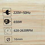 Свердлильний верстат Craft-Tec PXDP-16 Патрон 650Вт, фото 10