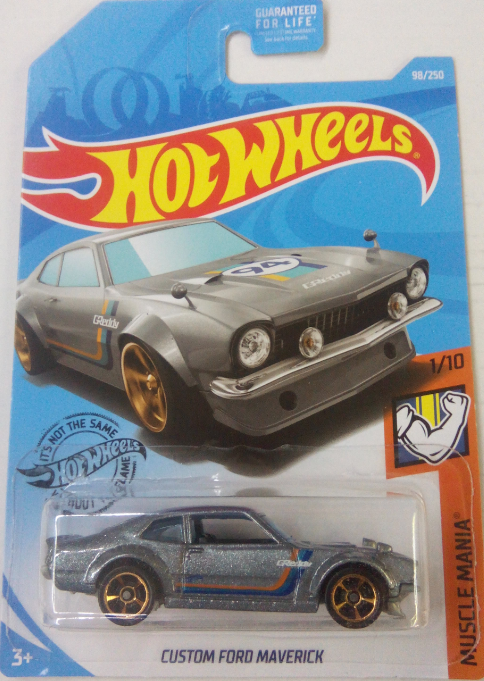 Машинка Hot Wheels 2019 Custom Ford Maverick