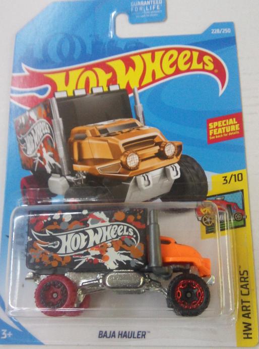 Машинка Hot Wheels 2019 Baja Hauler