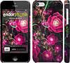 "Чехол на iPhone 5c Абстрактные цветы 3 ""850c-23"""