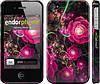 """Чехол на iPhone 4s Абстрактные цветы 3 """"850c-12"""""""