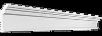 Потолочный плинтус гладкий для натяжного потолка Glanzepol GPX1, 35х20 мм
