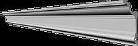 Потолочный плинтус гладкий для натяжного потолка Glanzepol GP80, 179х89 мм