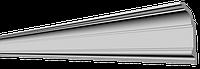 Потолочный плинтус гладкий для натяжного потолка Glanzepol GP71, 155х69 мм