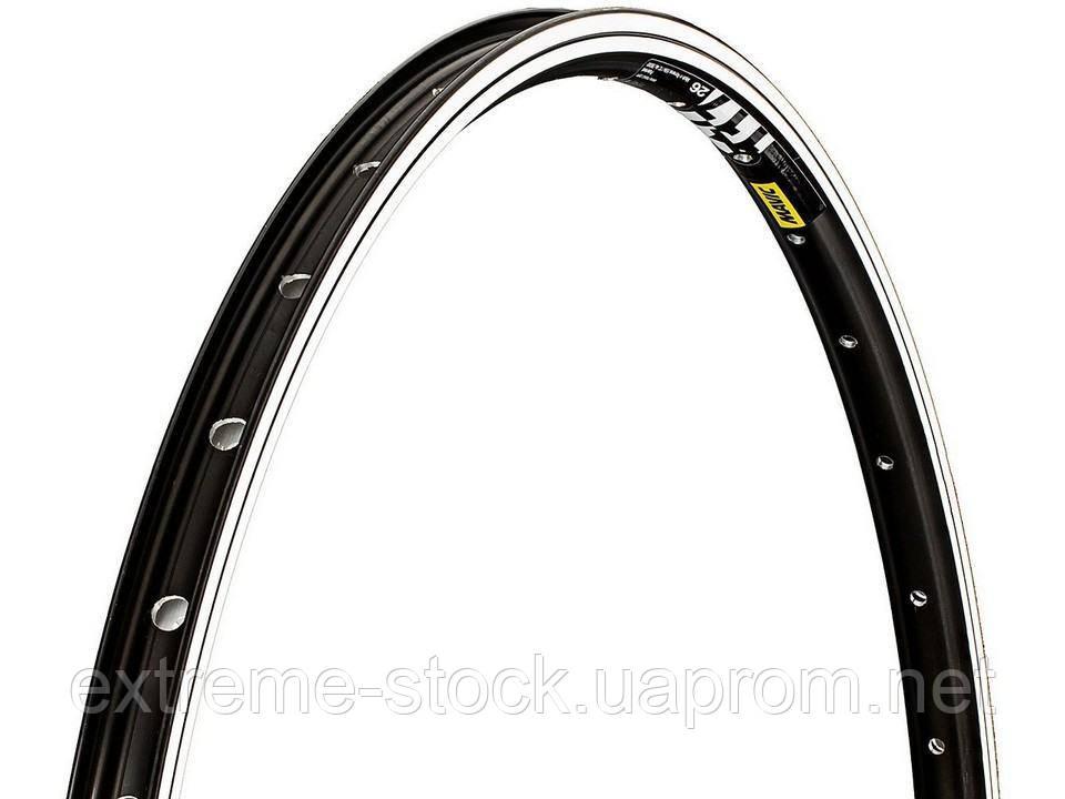 Обод для МТБ Mavic XM 117, 26 дюймов, чёрный, 32 отверстия