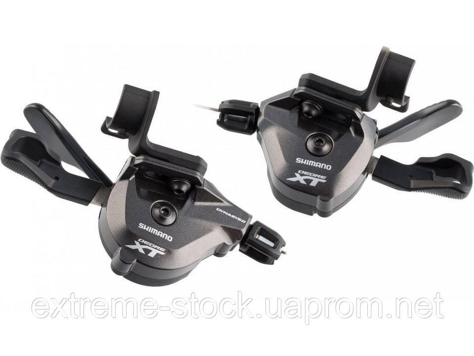 Манетки Shimano Deore XT SL-M8000-I, I-Spec II, 2/3x11 скоростей