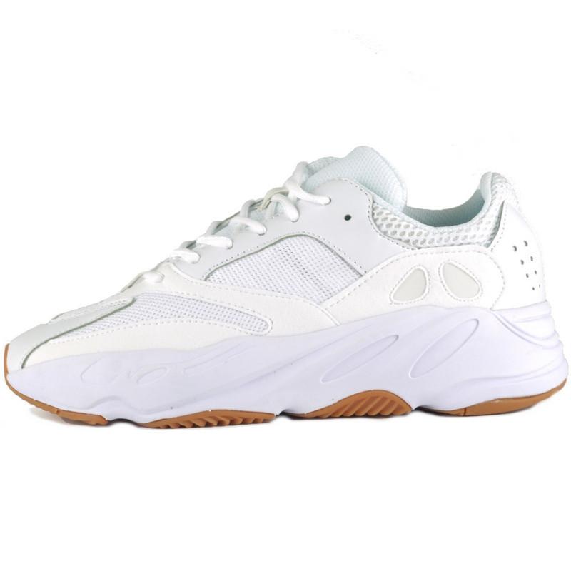 Кроссовки женские Adidas Yeezy Boost 700 Wave Runner (белые) Top replic