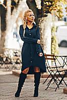 Женское платье-рубашка под пояс