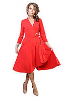 Обворожительное платье из ткани трикотаж-креп-дайвинг