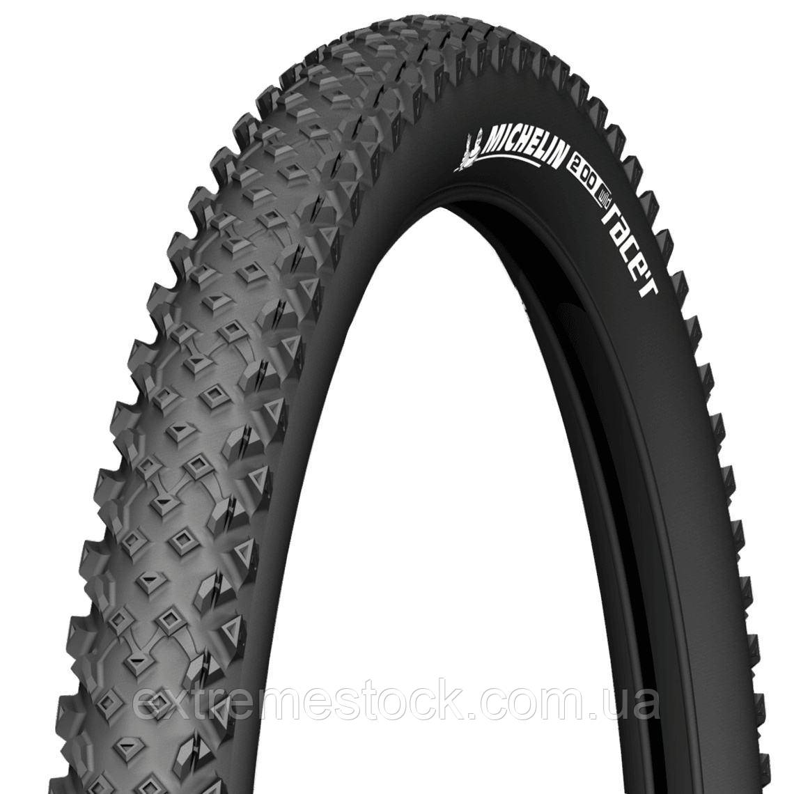 Покрышка мтб Michelin Wild Race'R Perfomance, 29x2.25, Tubeless Ready