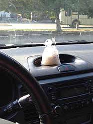 Влагопоглотитель подвесной с индикатором (силикагель) для автомобиля и дома масса 200 грамм