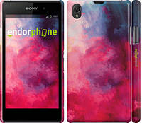 "Чехол на Sony Xperia Z1 C6902 Мазки краски ""2716c-38"""