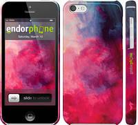 """Чехол на iPhone 5c Мазки краски """"2716c-23"""""""