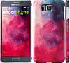 "Чехол на Samsung Galaxy Alpha G850F Мазки краски ""2716c-65"""