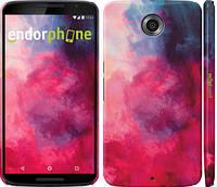 """Чехол на Motorola Nexus 6 Мазки краски """"2716c-67"""""""