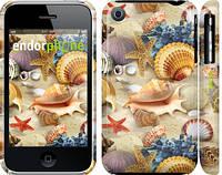 """Чехол на iPhone 3Gs Морские ракушки """"2244c-34"""""""