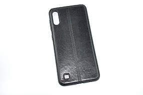 Чехол для телефона Samsung A40/A405 (2019) Silicone Fashion Leather Black