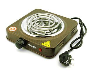 Электрическая плитка Atlanfa AT-1751A (электроплитка 100b спиральный тэн)