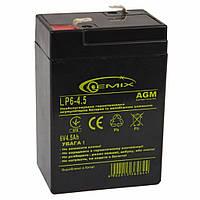 Батарея к ИБП GEMIX 6В 4.5 Ач (LP6-4.5 Т2)