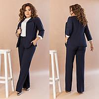 Женский брючный костюм с пиджаком 1067 - 42-44, 44-46, 48-50, 52-54, 56-58