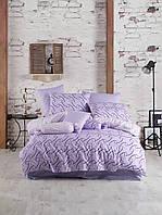 Комплект постельного белья ранфорс Majoli Magic Lilac евро