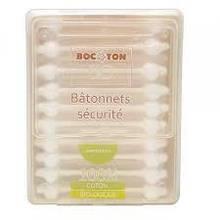 Ватные палочки для детей и малышей органические  Bocoton 60 шт