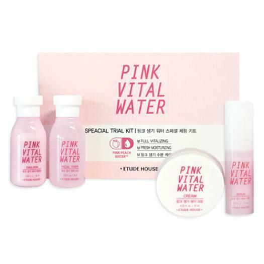 Уходовый набор для лица Etude House Pink Vital Water 4 set