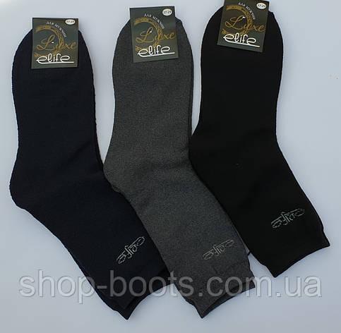 Чоловічі шкарпетки оптом. Модель чоловічі махрові 1, фото 2
