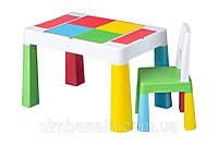 Детский универсальный столик для LEGO и других занятий, Tega Baby MULTIFUN