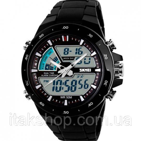 Мужские наручные часы Skmei Shark Black 1016