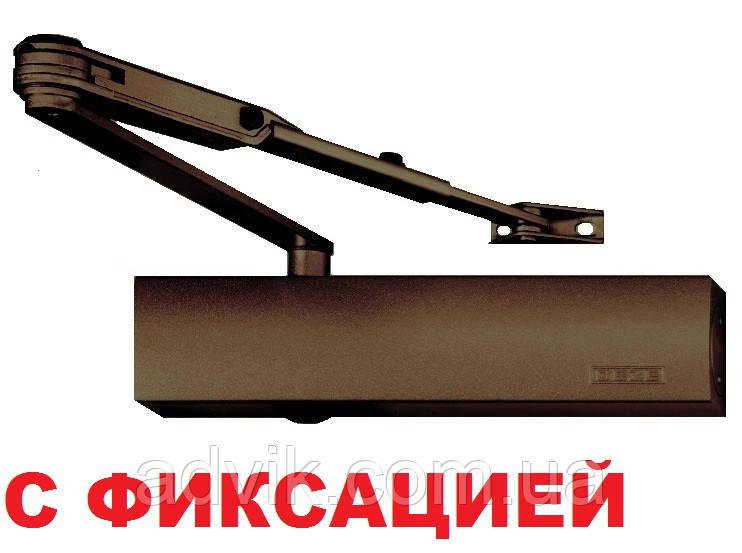 Доводчик Geze TS 4000 EN 1-6 с фиксацией (коричневый)