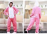 Пижама кигуруми Hello Kitty розовый, пижама хелоу кити, фото 2