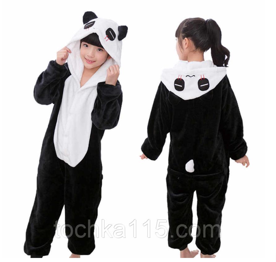 Пижама кигуруми Детские панда грустная