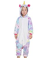 Пижама кигуруми Детские единорог звездный, фото 1