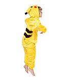 Пижама кигуруми Детские пикачу желтый, фото 2