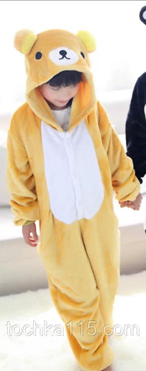 Пижама кигуруми Детские мишка
