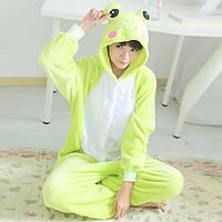 Пижама кигуруми лягушка, пижама для настроения лягушонок, фото 1