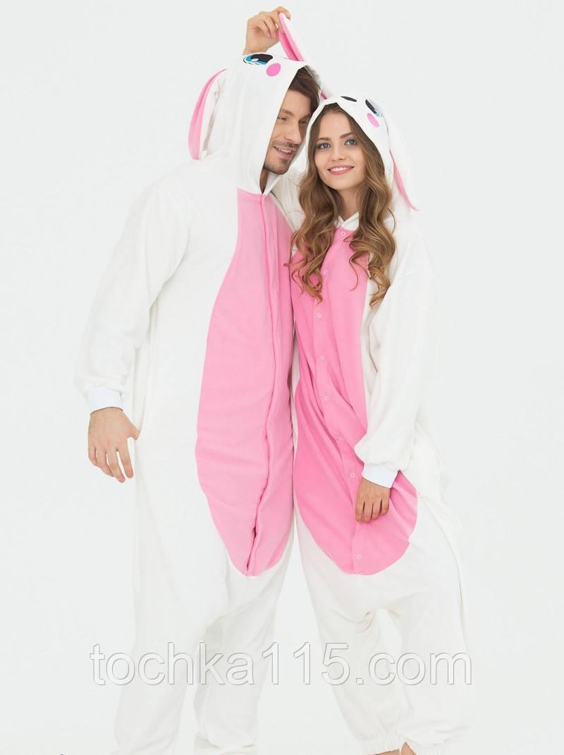 Пижама кигуруми заяц, молодежная пижама