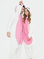 Пижама кигуруми заяц, молодежная пижама, фото 1