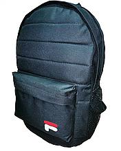 Рюкзак спортивный черный, рюкзак на 2 отделения 012S
