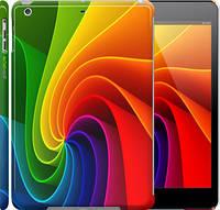"Чехол на iPad 5 (Air) Радужный вихрь ""747c-26"""
