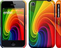 """Чехол на iPhone 3Gs Радужный вихрь """"747c-34"""""""