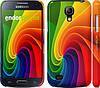 "Чехол на Samsung Galaxy S4 mini Радужный вихрь ""747c-32"""