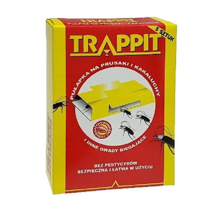 Средство от тараканов Ловушки тараканов Agrisense Trappit, 5 штук