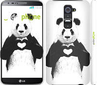 "Чехол на LG G2 All you need is love ""2732c-37"""